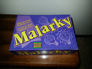 Malarky Game - like new condition
