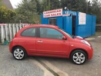 Nissan Micra 1.2 16v ( 79bhp ) Acenta ***3 MONTHS WARRANTY ***FINANCE AVAILABLE