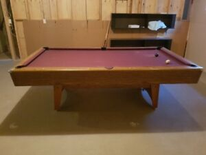 Pool table and lighting for sale!