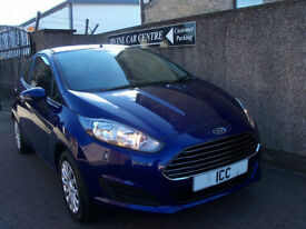 14 14 REG FORD FIESTA 1.25 STYLE EDN 3DR NEWSHAPE MODEL £30 TAX AIRCON LOW INS