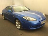 2007 Hyundai Coupe 2.0 SIII 3dr Petrol blue Manual