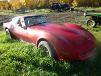*FOR PARTS ONLY*1980 Chevrolet Corvettes