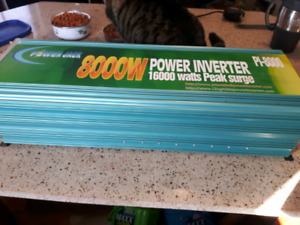 Inverter 8000w off grid unit