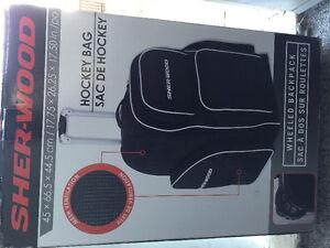 New Backpack Wheeled Hockey Bag