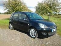 2008 FORD FIESTA GHIA ~ AUTO ~ 5 DOOR ~ NEW CAM BELT~ LEATHER ~ FINANCE ARRANGED