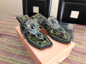 Lady's Sandal and boots. Size 7.