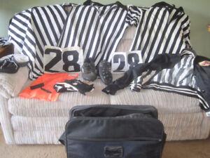 Football Official's Equipment