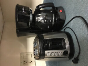 Various kitchen appliances and accessories