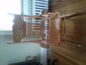 Chaise berceuse, rocking chair