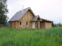 Cabin overlooking the beautiful Fraser River!!!