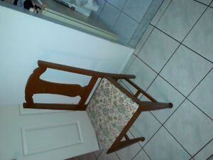 Oak Dining Room Chairs Set of Six