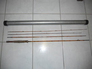 Canne mouche de collection Bamboo, Fly fishing rod
