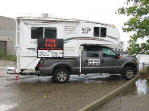 Ford F350 Truck & Arctic Fox 811 Camper Package
