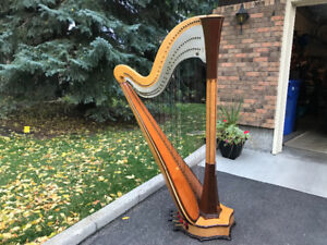 HARP - WILFRED SMITH CONCERT CLASSICAL 7 PEDAL, 47 STRING