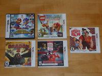 Jeux de Ds 3DS et Ds et console brisé (faite une offre)
