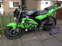 Zx6 stunt bike/streetfighter