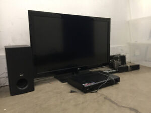 LG TV Entertainment System