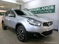 Nissan Qashqai 1.5 DCI N-TEC [5X SERVICES, SAT NAV, PANORAMIC ROOF and REVERSE C