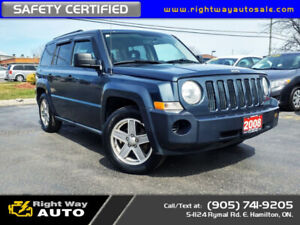 2008 Jeep Patriot Sport | 4x4 | SAFETY CERTIFIED