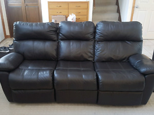 Ashley Furnature Genuine Leather Recliners