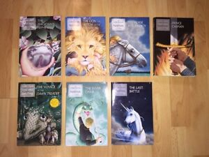 The Chronicles of Narnia book series Complete Collection