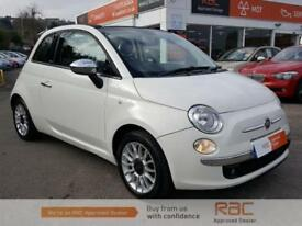 FIAT 500 C LOUNGE White Manual Petrol, 2009