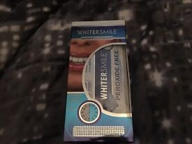 Whiter Smile Teeth Whitening Strips - BNIB