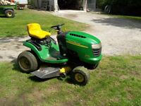 20 HP John Deere Lawn tractor.