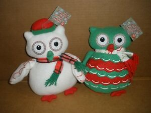 NEW!!!  Xmas Owls for your Pooch