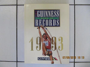 Classic The Guiness Book Of Records1993EditionMint Stored Cond