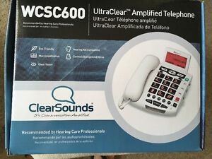 Clear Sounds WCS 600 Ultra Clear Phone