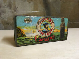 ANTIQUE PLAYER'S TOBACCO TIN