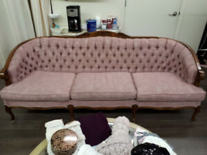 French Provincial Couch & Chair