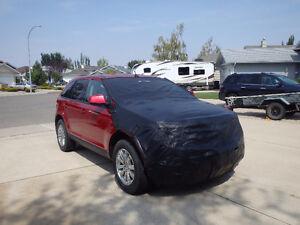 Tow car shield & mirror covers
