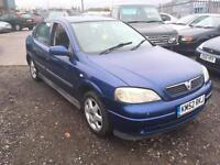 2003/52 Vauxhall/Opel Astra 1.6i a/c Envoy FULL MOT EXCELLENT RUNNER