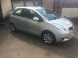 2008/08 Toyota Yaris 1.0 VVT-i T3 Ideal 1st Car Economical ONLY £110 Road Tax