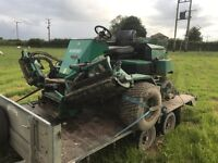 Ransomes 5 gang mower fairway 4cyl kubota diesel