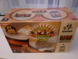 Donkey Konga with Bongos for Nintendo Gamecube
