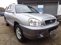 Hyundai Santa Fe 2004 95000 MILES, SERVICE HISTORY, ALLOYS, TOW BAR, NEW CLUTCH