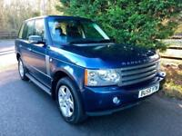 2006 (56) LAND ROVER RANGE ROVER 3.0 TD6 VOGUE AUTOMATIC TURBO DIESEL 4X4
