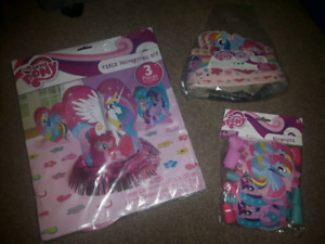 MY LITTLE PONY PARTY SUPPLIES PICKUP IN HANOVER AREA