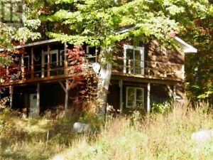 Water front home/cottage, covered deck, great views, 1.76 acres