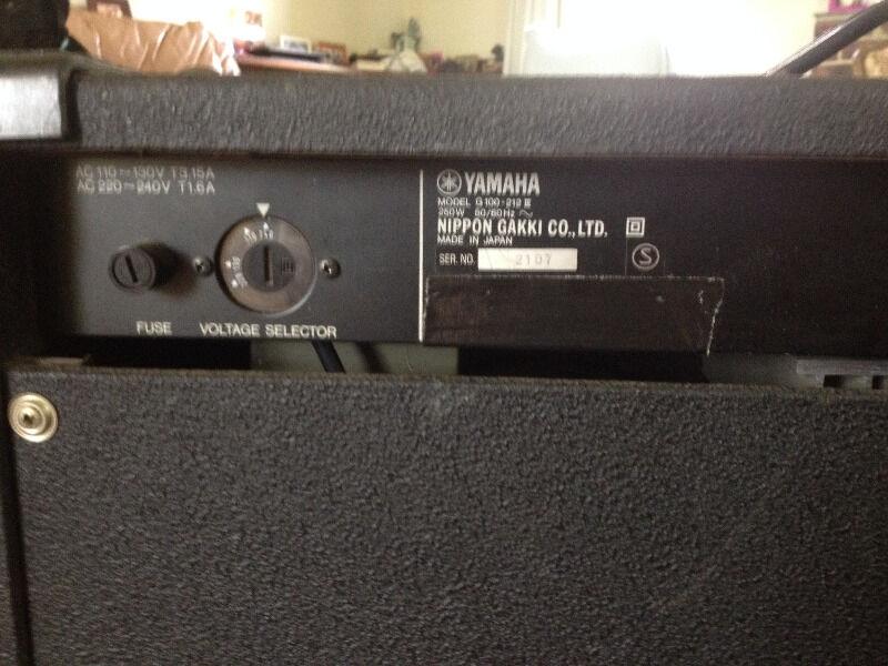 100W Yamaha G100-212 G2 Series Guitar Amp | Guitars & Amps | Gumtree