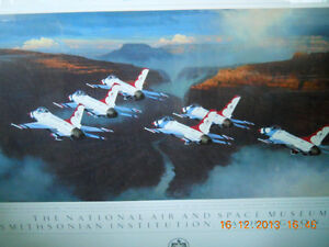 AVIATION PRINT - Framed - USAF Thunderbirds