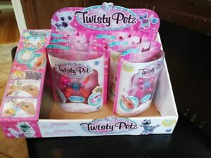 TWISTY PETZ - FIRST FULL SET OF 18 ****AND STORE DISPLAY BOX****
