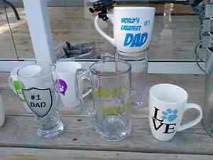 Custom mugs, glasses, and pails. Custom gifts London Ontario image 3