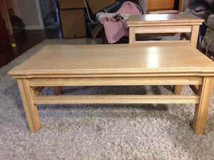 Coffee table & side tables North Shore Greater Vancouver Area image 1