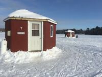 ICE BUNGALOWS LAKE NOSBONSING  MARCH SPECIAL 25%off