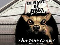 Hamilton's Poo Crew ~ Dog Waste Cleanup Services