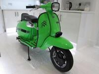 LAMBRETTA VIJAI SUPER GP150 FULLY RESTORED IMMACULATE SHOWROOM CONDITION